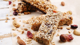 Healthy snacks - bars