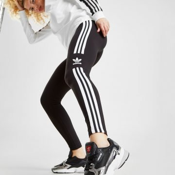 65fda47319e adidas Originals 3-Stripes Trefoil Leggings Dames – Zwart – Dames